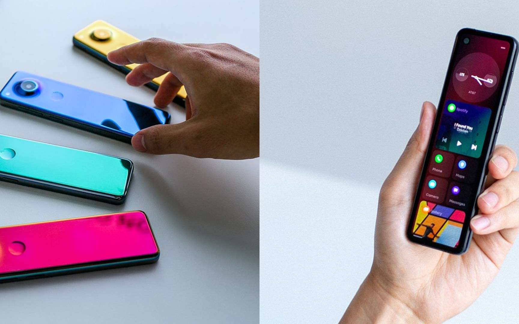 Pour l'instant, on doit se contenter de deux visuels et d'une vidéo pour découvrir le prochain smartphone Essentiel. © Essential