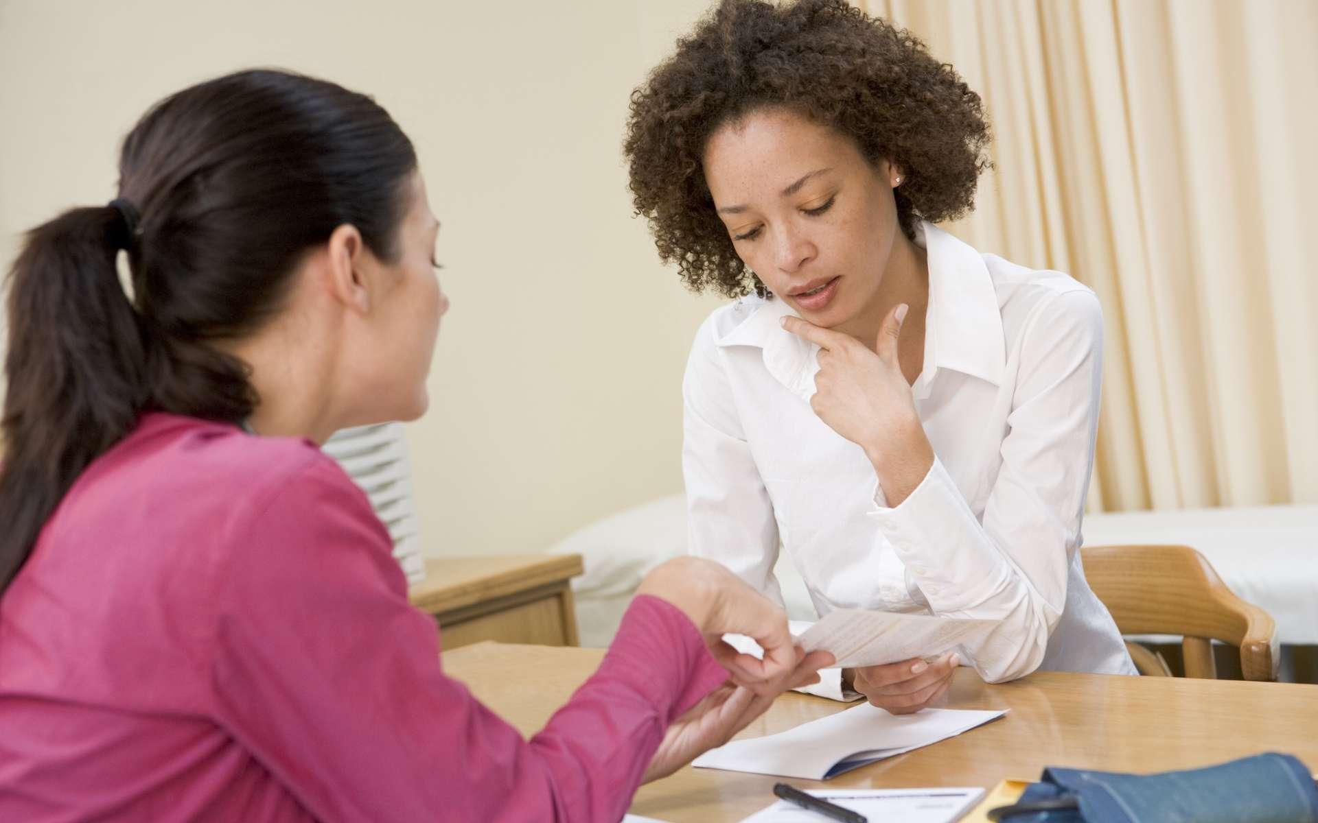 Même à l'âge adulte, l'orthophonie peut aider à vaincre le bégaiement. © Phovoir