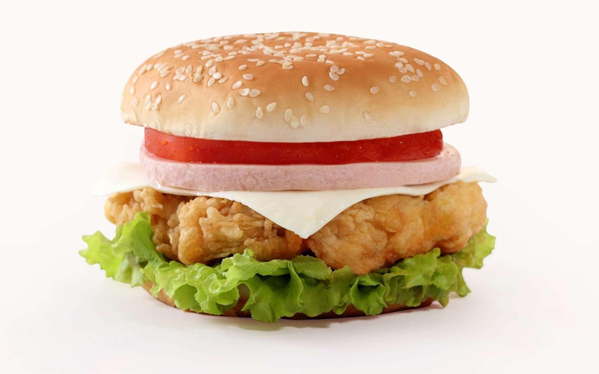 La publicité pour les fast-foods influence beaucoup les enfants, jusqu'à constituer une question de santé publique. © DP