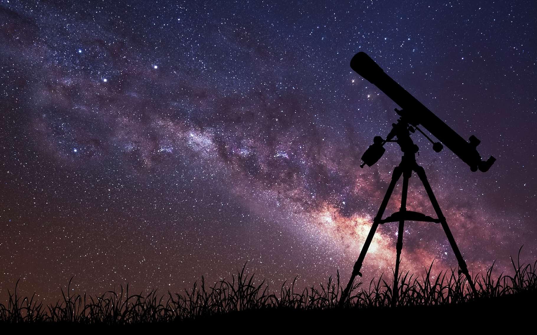 Une nouvelle technique mise au point par des chercheurs européens promet de doper la puissance des télescopes. © Vadim Sadovski, Shutterstock