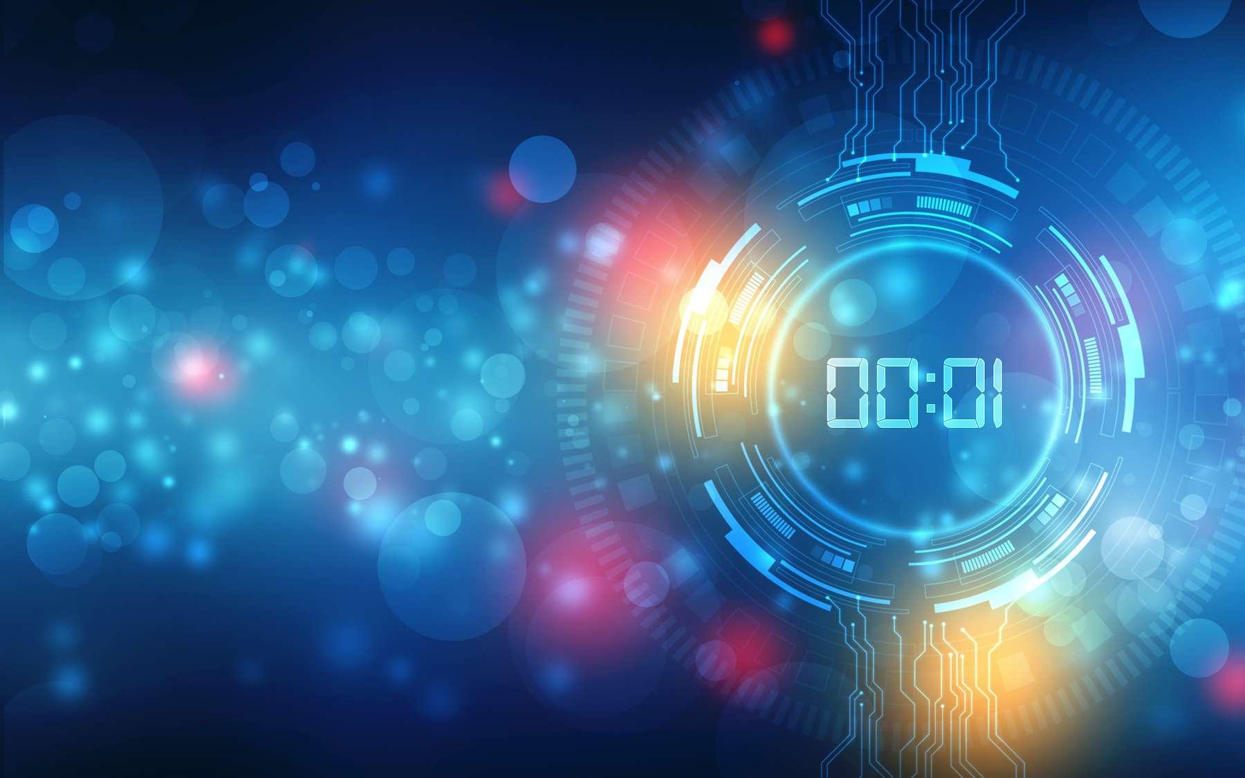 La zeptoseconde : le temps le plus court jamais mesuré. © blackboard, Adobe Stock