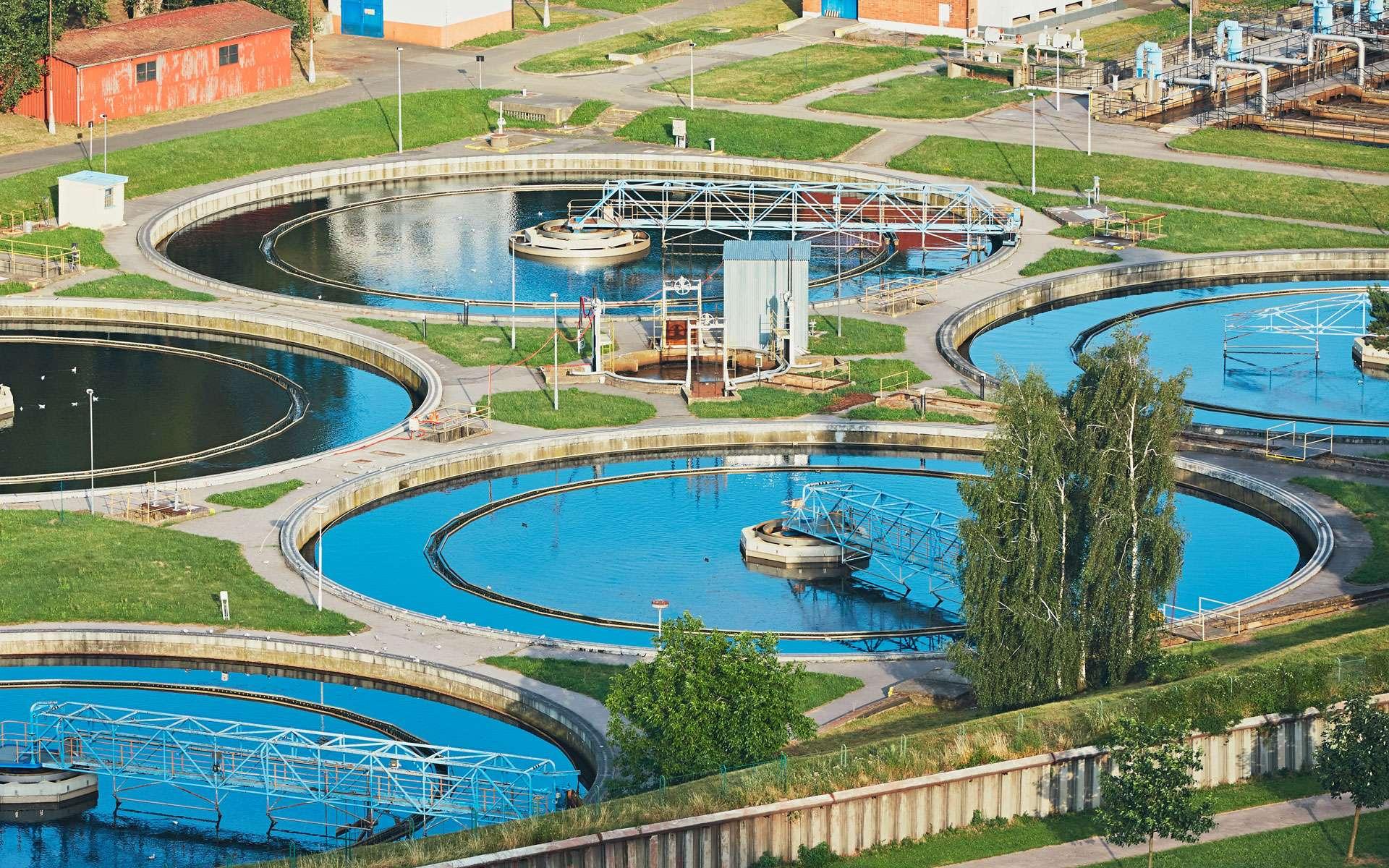 Station d'épuration des eaux usées © Chalabala / Envato