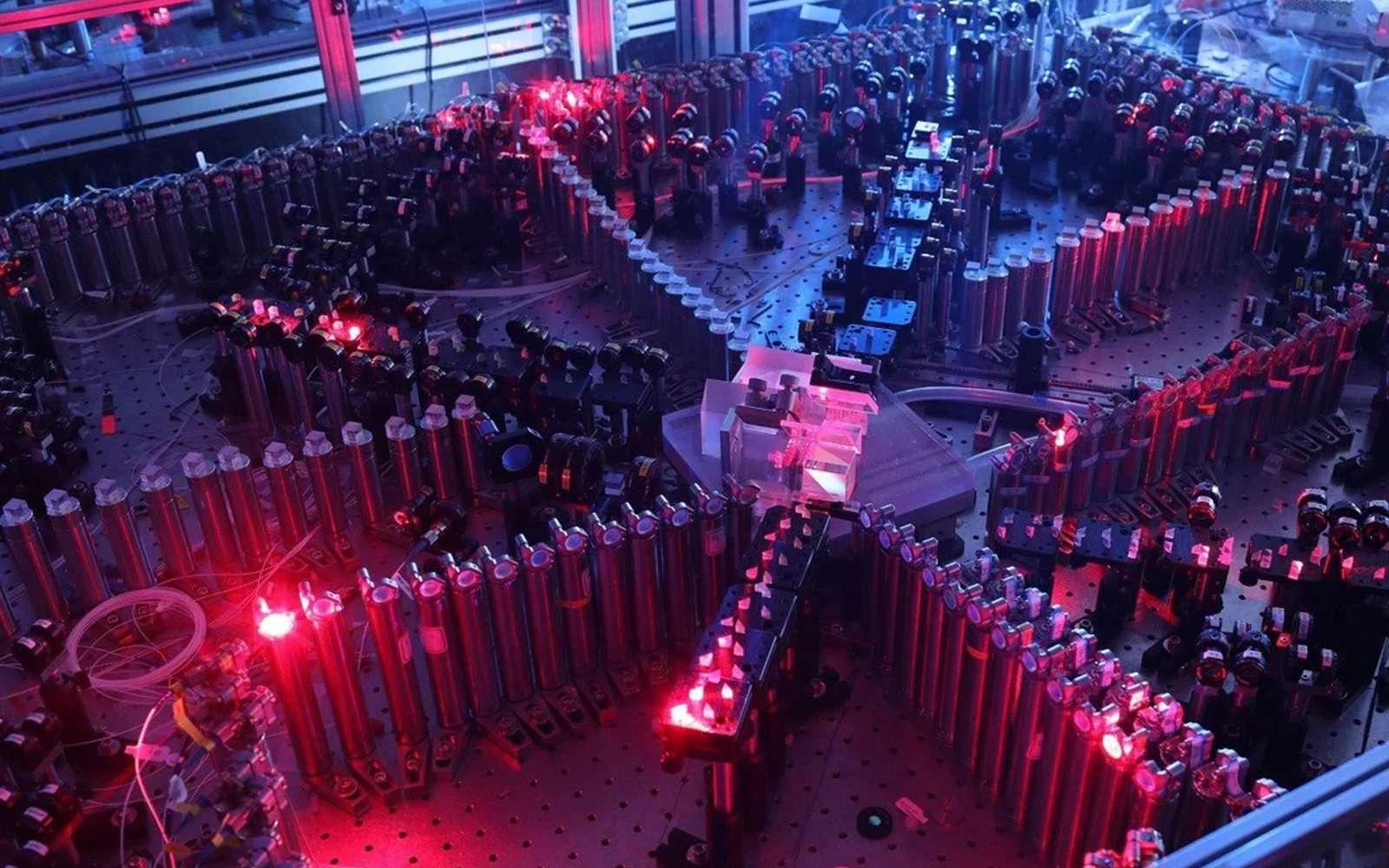 L'ordinateur Jiuzhang est capable d'effectuer un échantillonnage gaussien de bosons plus rapidement que n'importe quel ordinateur. © University of Science and Technology of China