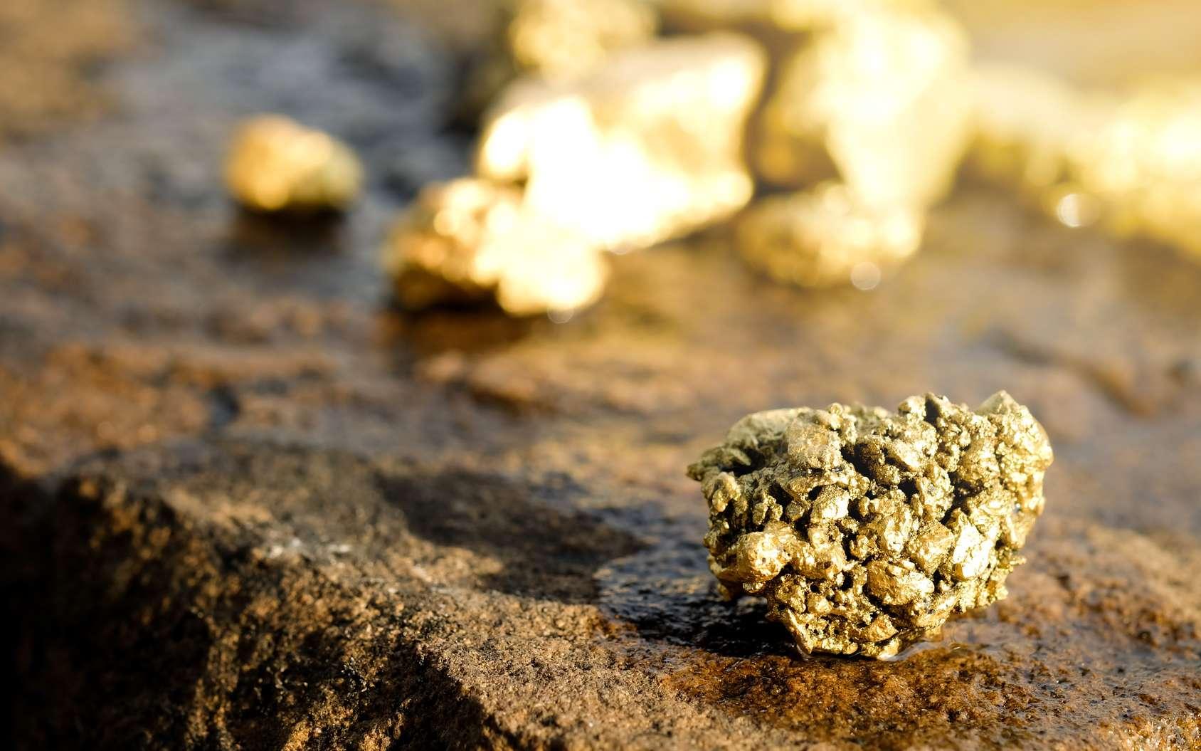 Les pépites d'or ont été et sont encore très recherchées. © Phawat, fotolia