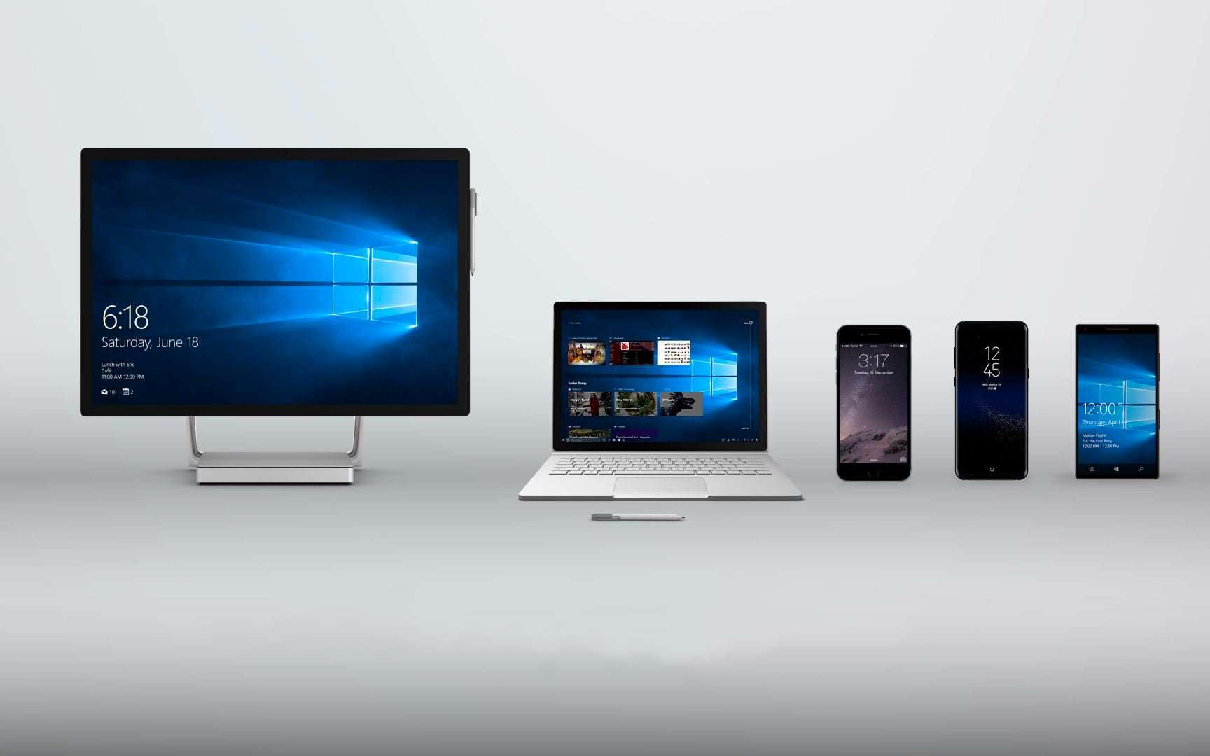 L'application « Votre Téléphone » pour Android existe déjà depuis un moment. Elle permettait déjà de synchroniser à la fois les photos et les SMS du mobile avec Windows 10. Aujourd'hui elle sait gérer l'ensemble des notifications du mobile pour les afficher sur Windows 10 et bientôt les appels téléphoniques. © Microsoft