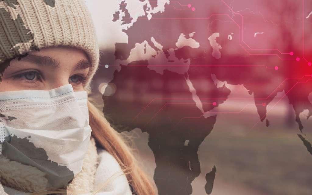 Le risque d'infection par le Coronavirus et la contamination dans le monde s'accélèrent. L'OMS évoque un risque de « pandémie ». © Shintartanya, Adobe Stock