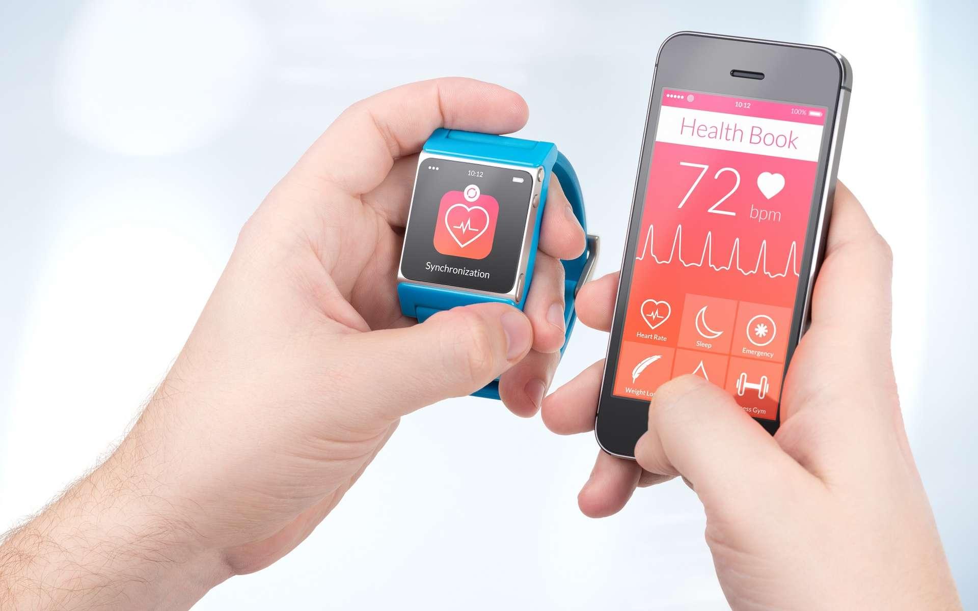 Il existe de nombreuses applications santé pour smartphones et objets connectés. © Alexey Boldin, Shutterstock