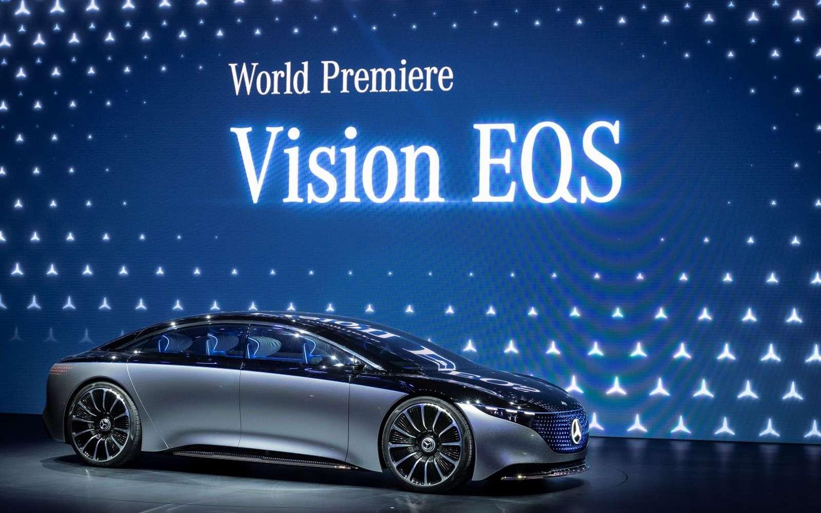 À quoi ressemblera le luxe électrique ? La réponse avec la Vision EQS. © Mercedes