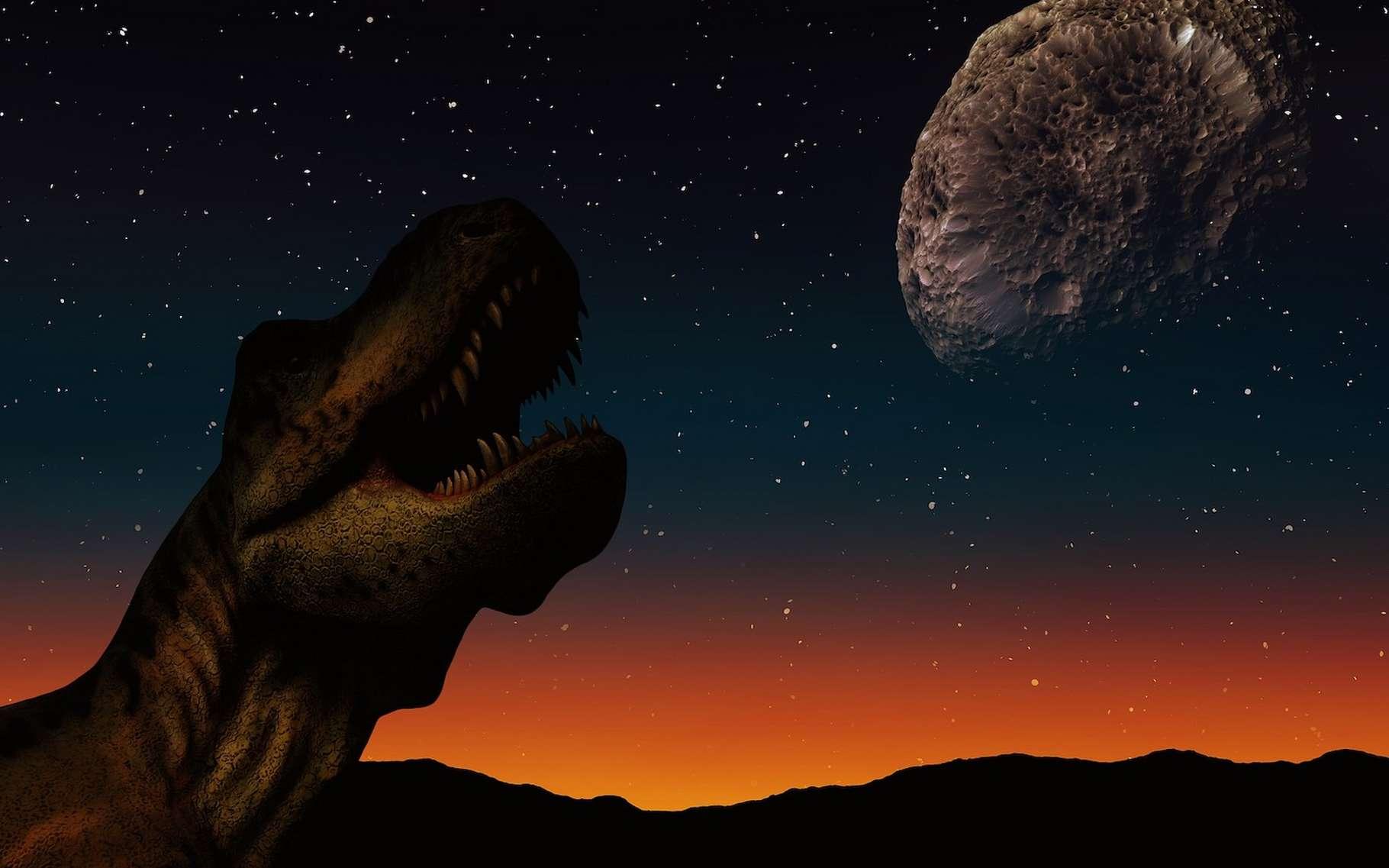 Des chercheurs estiment que, depuis 1750, les activités humaines ont été à l'origine d'une émission de CO2 dans l'atmosphère plus importante que celle générée par l'astéroïde qui a exterminé les dinosaures il y a 66 millions d'années. © geralt, Pixabay License