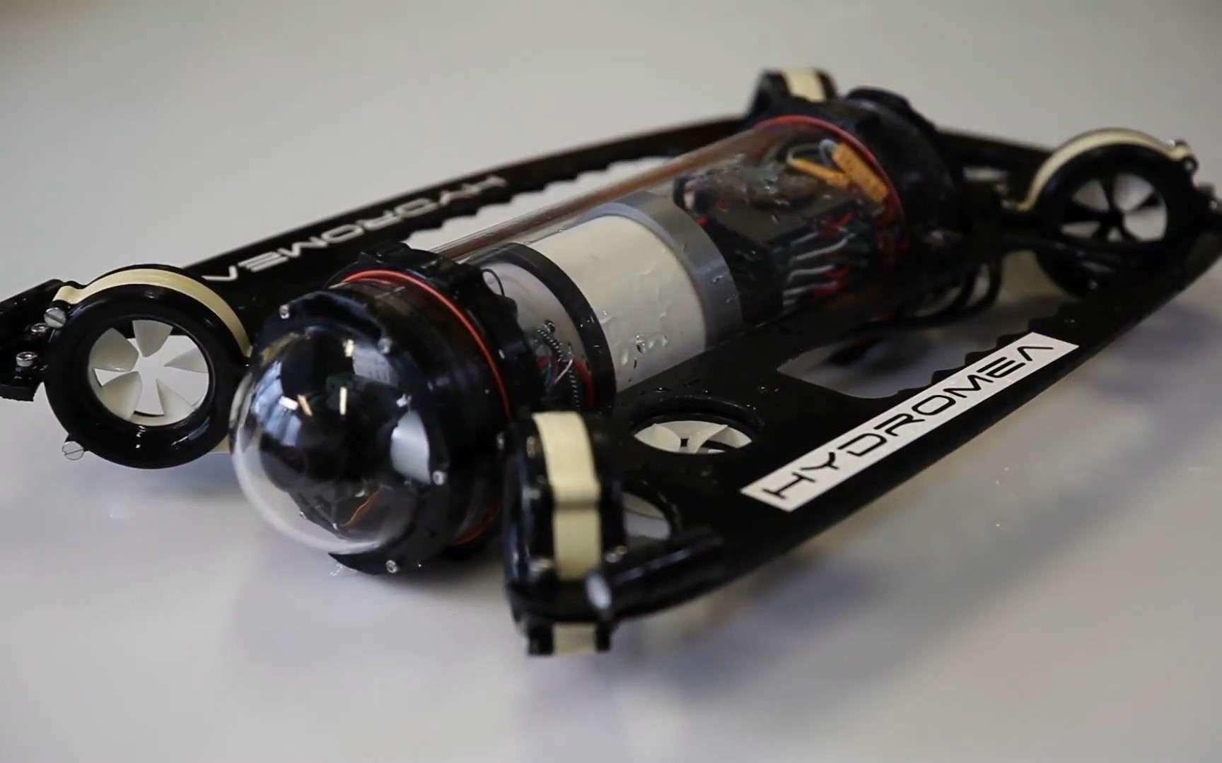 Le prototype d'un drone sous-marin sans câble qui sera disponible en 2022. © Hydromea