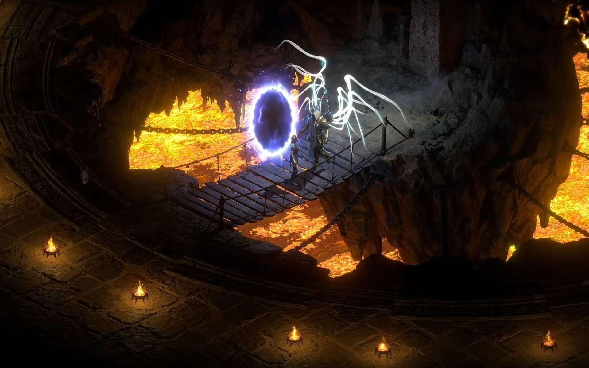 Diablo II: Resurrected est une version remastérisée en 3D de Diablo II. © Blizzard