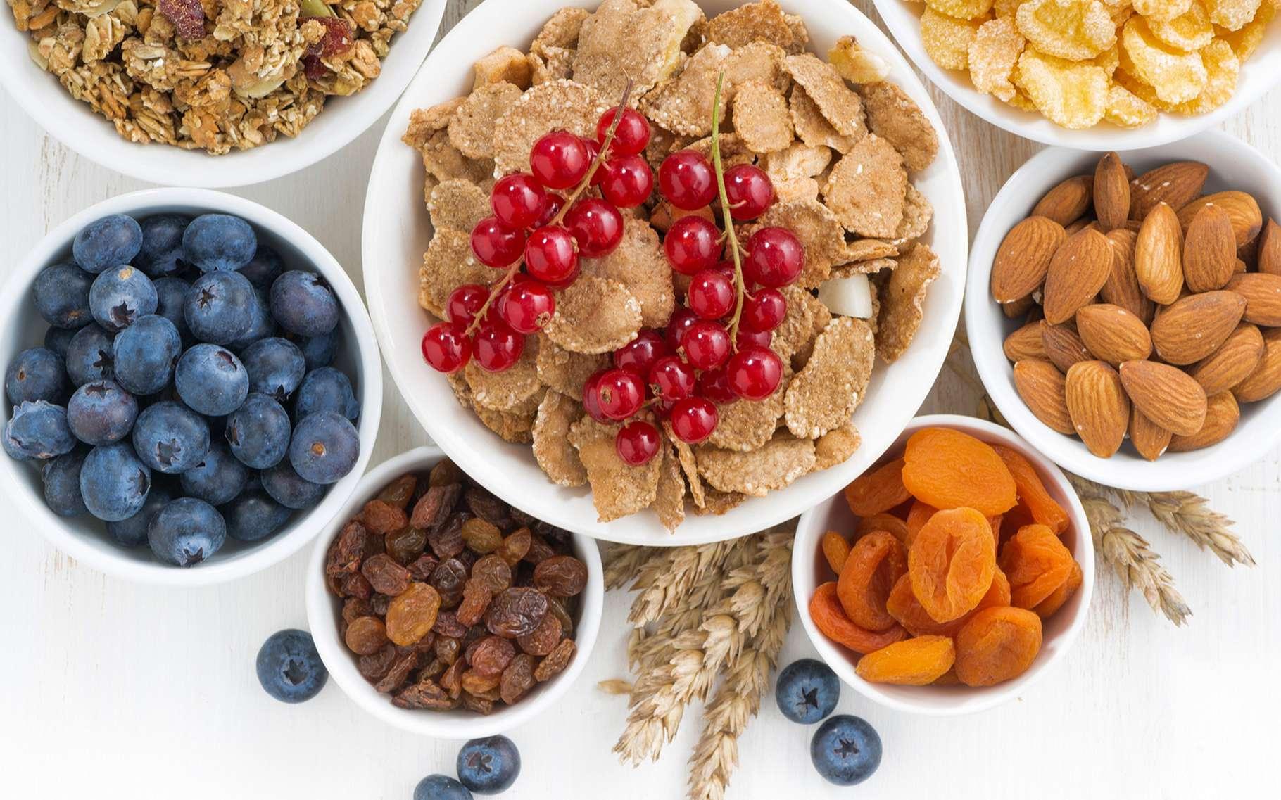 Les autorités sanitaires recommandent de consommer 30 g de fibres quotidiennement. © Yulia Davidovich, Shutterstock