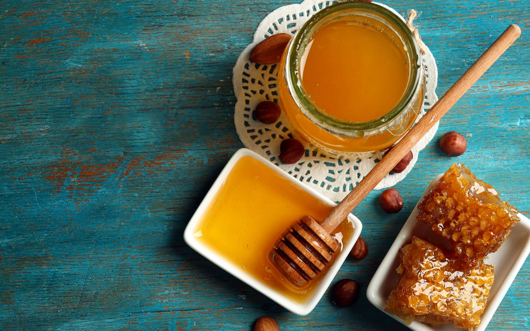 Du miel pour soigner la sinusite ? © Africa Studio, Shuttestock