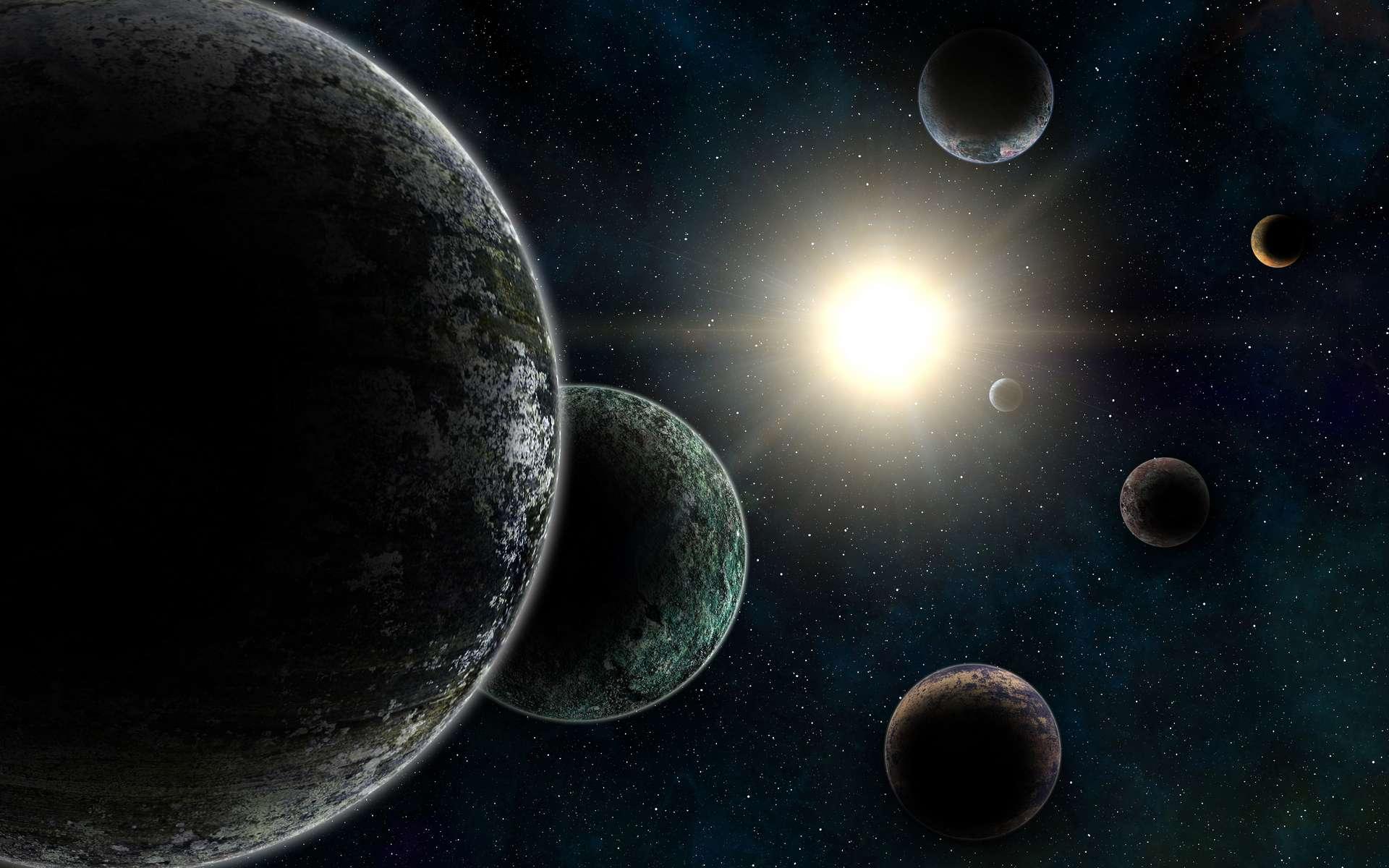 Une étudiante de l'université de Colombie britannique (Canada) a découvert 17 nouvelles exoplanètes grâce aux données de la mission Kepler. © southmind, Adobe Stock