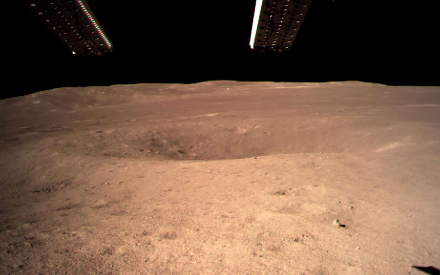 La face cachée de la Lune vue depuis la sonde LRO de la Nasa. © Nasa, LRO science team