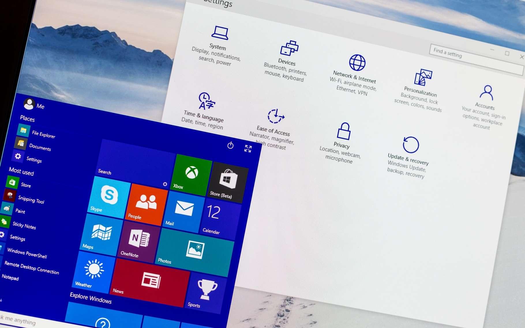 Changer régulièrement son mot de passe Windows relève d'une prudence élémentaire. © RoSonic, Shutterstock