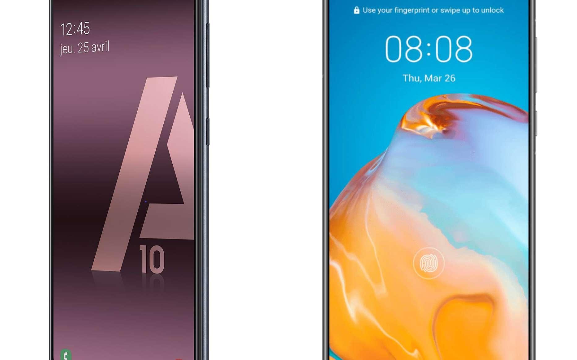 Super promo sur le Huawei P40 et le Samsung Galaxy A10 chez Rakuten