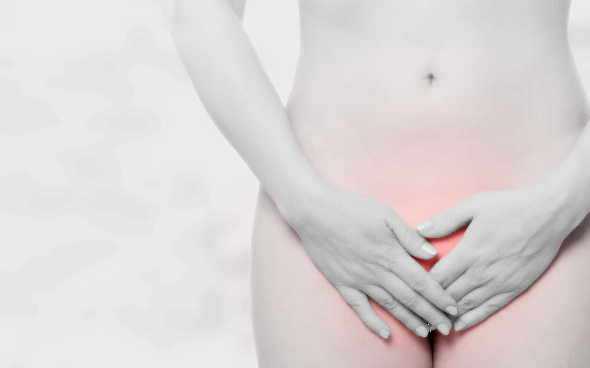 Douleur dans l'appareil génital féminin. © Sentello, Adobe stock
