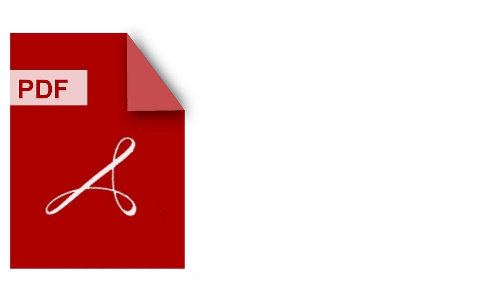 Le format PDF est un langage de description de page créé par Adobe en 1992, devenu une norme ISO en 2008. © Pixabay.com