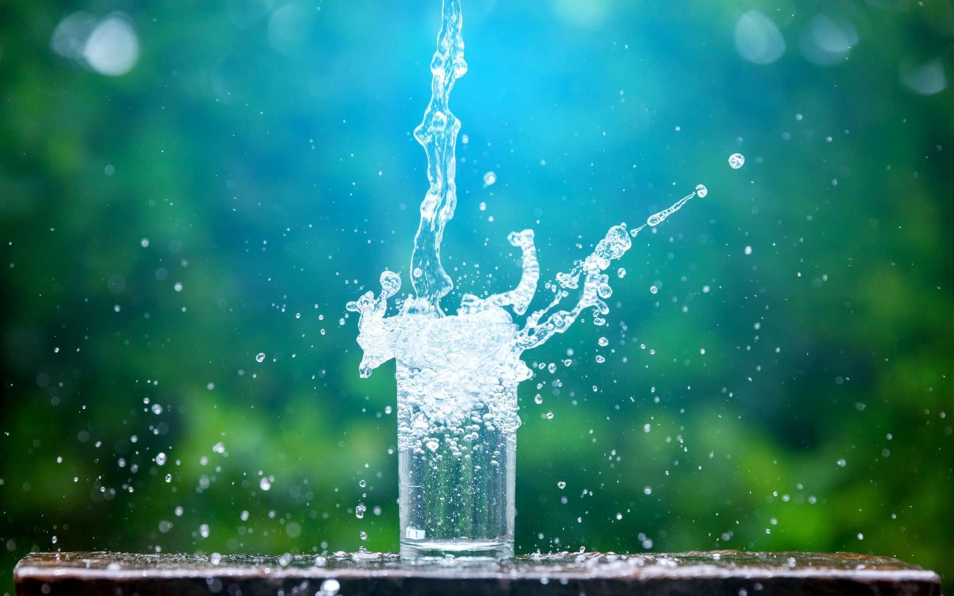 Un potomane peut boire jusqu'à 24 litres d'eau par jour. © Noon@photo, Adobe Stock