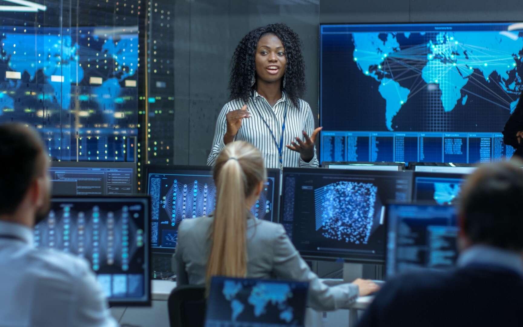 La cybersécurité est l'un des plus grands enjeux pour les entreprises comme pour les États car la cybercriminalité coûte des milliards d'euros chaque année. © Gorodenkoff, Adobe Stock