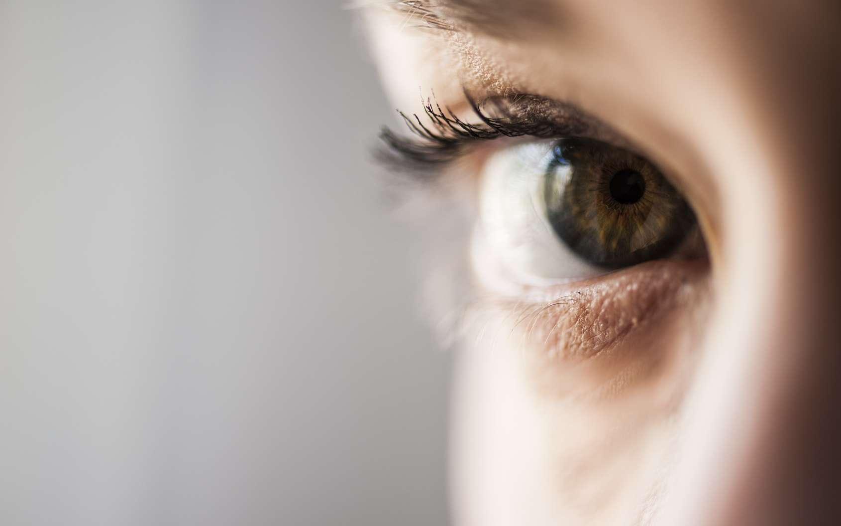 Dans le futur, les robots et les ordinateurs pourraient apprendre à mieux nous connaître en analysant notre regard. © Pixelaway, Fotolia