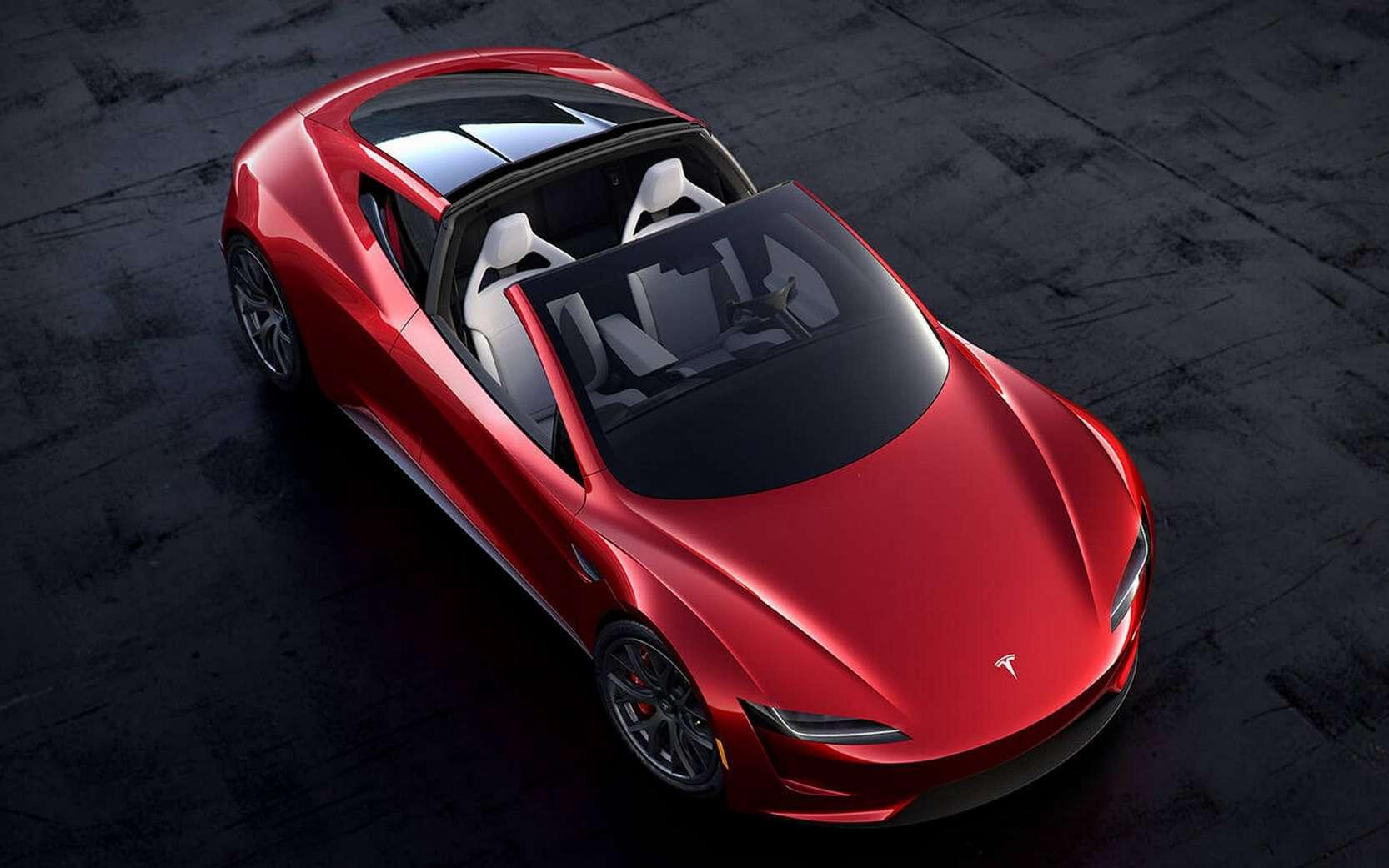 La version de série du Tesla Roadster devrait évoluer par rapport au prototype, a annoncé Elon Musk. © Tesla