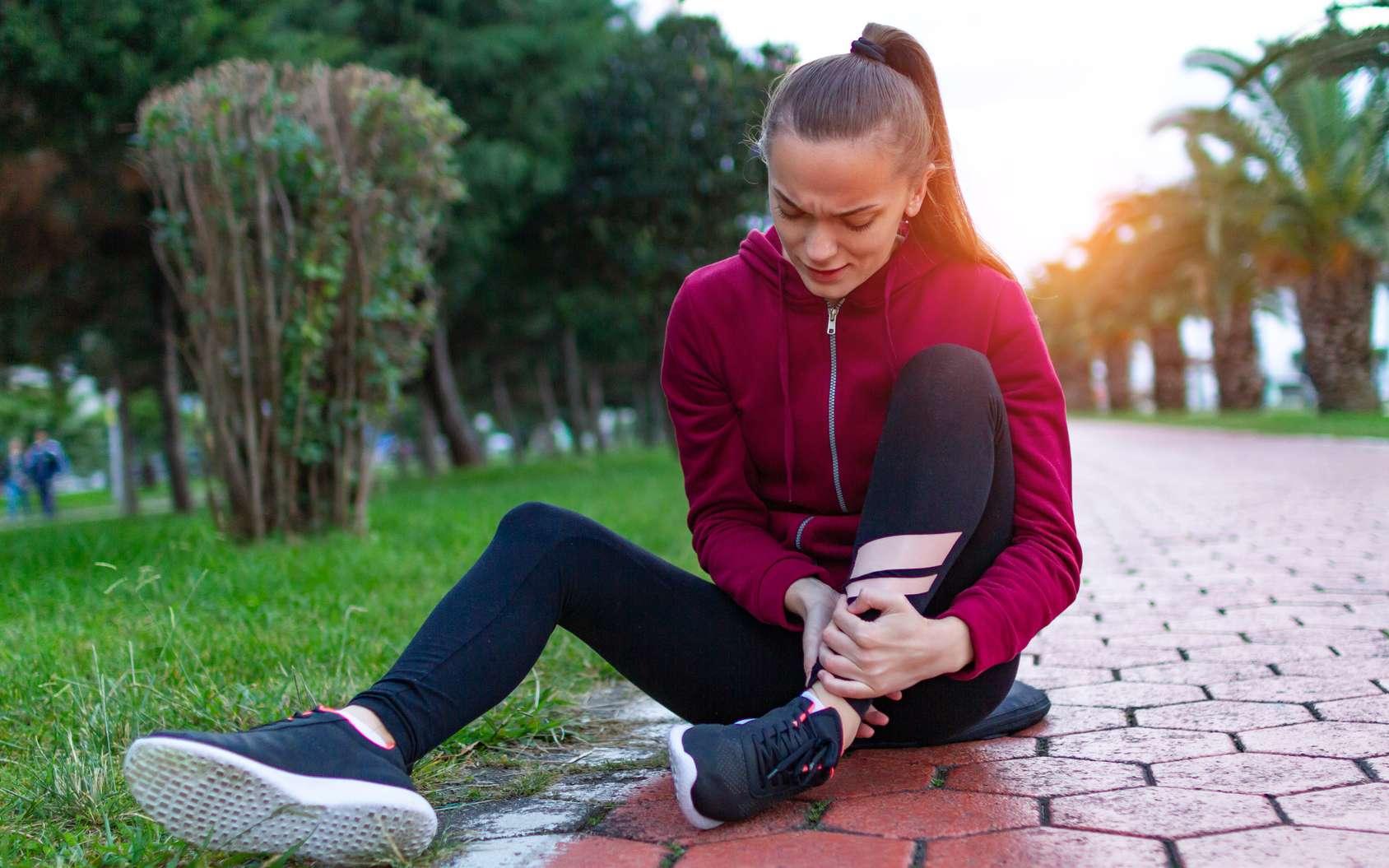 La déchirure musculaire survient fréquemment au cours de la course. © Goffkein, Fotolia