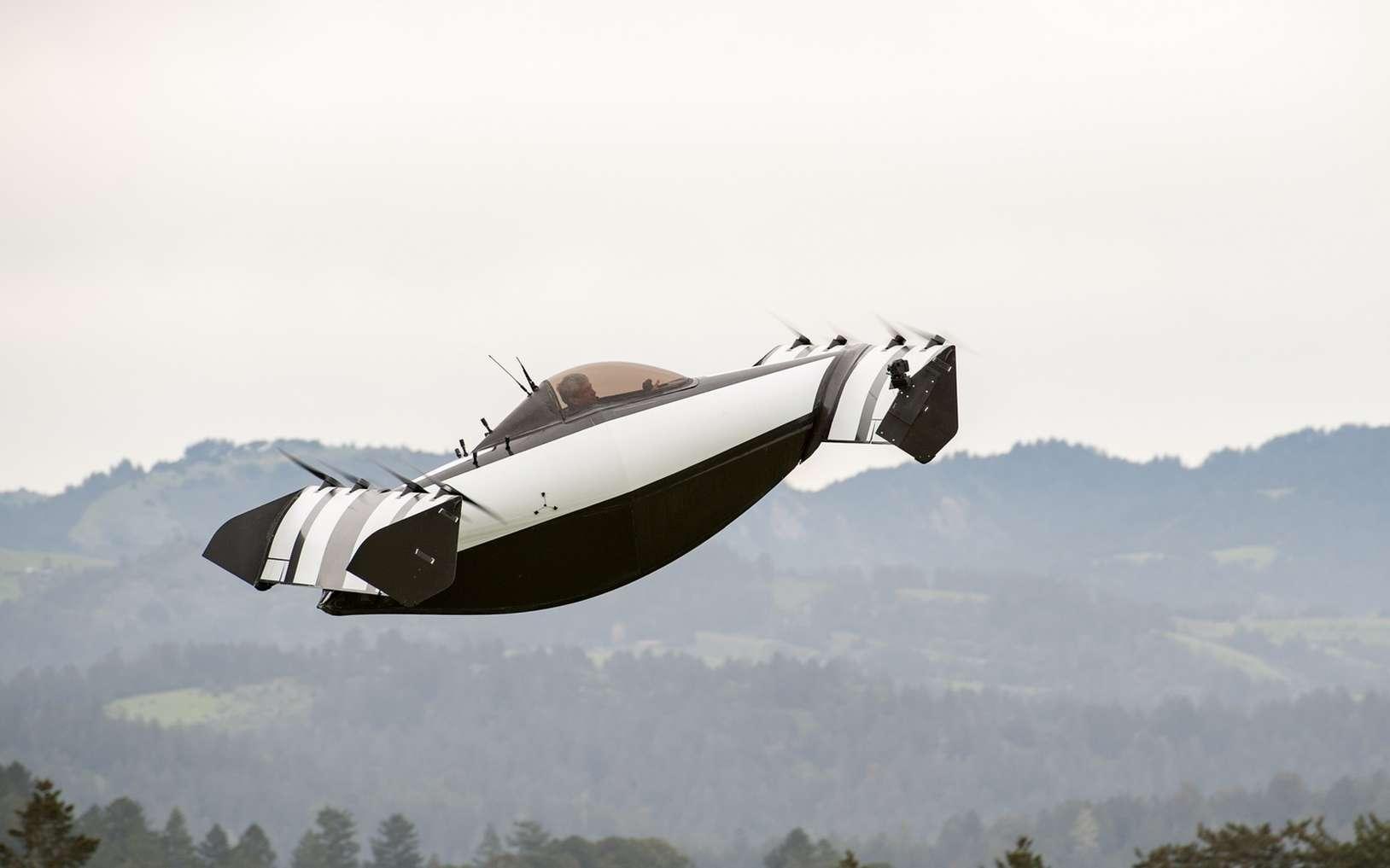 Le BlackFly est un adav amphibie qui sera commercialisé l'année prochaine. © Opener