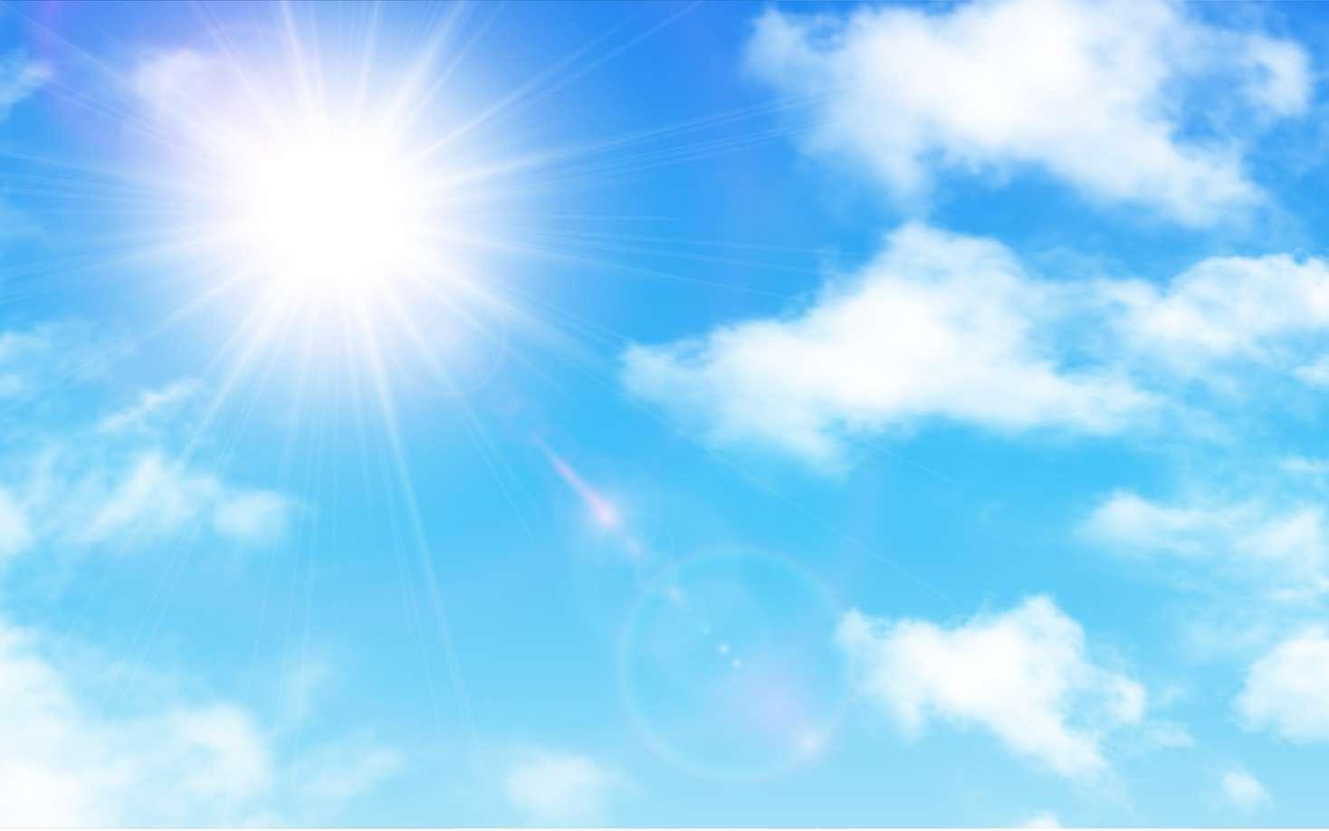 Regarder le soleil sans précaution peut être dangereux : même sans douleur ressentie, les lésions sur la rétine peuvent être irréversibles. © Cobalt, Fotolia
