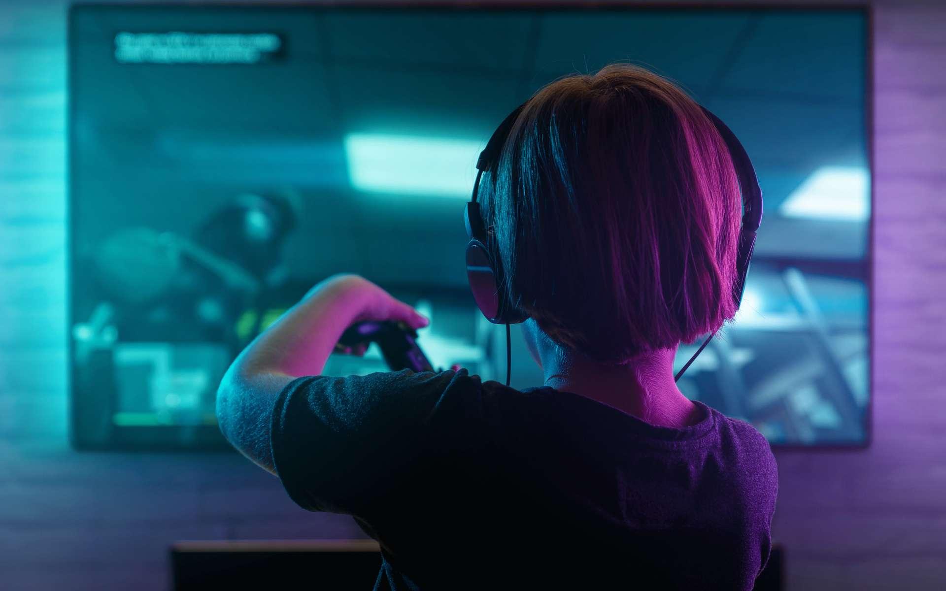 La TV gaming avec HDMI 2.1, idéale pour les gamers. © rangizzz, Adobe Stock