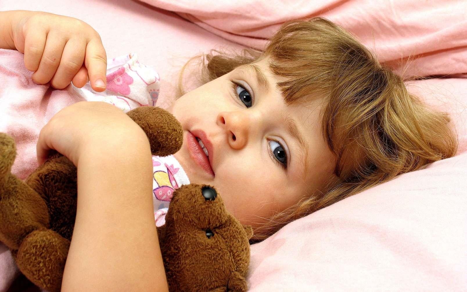 A la maternelle, au dodo à 20h ! Il faut coucher les enfants à heures fixes- Source : Anita P Peppers - Fotolia.com