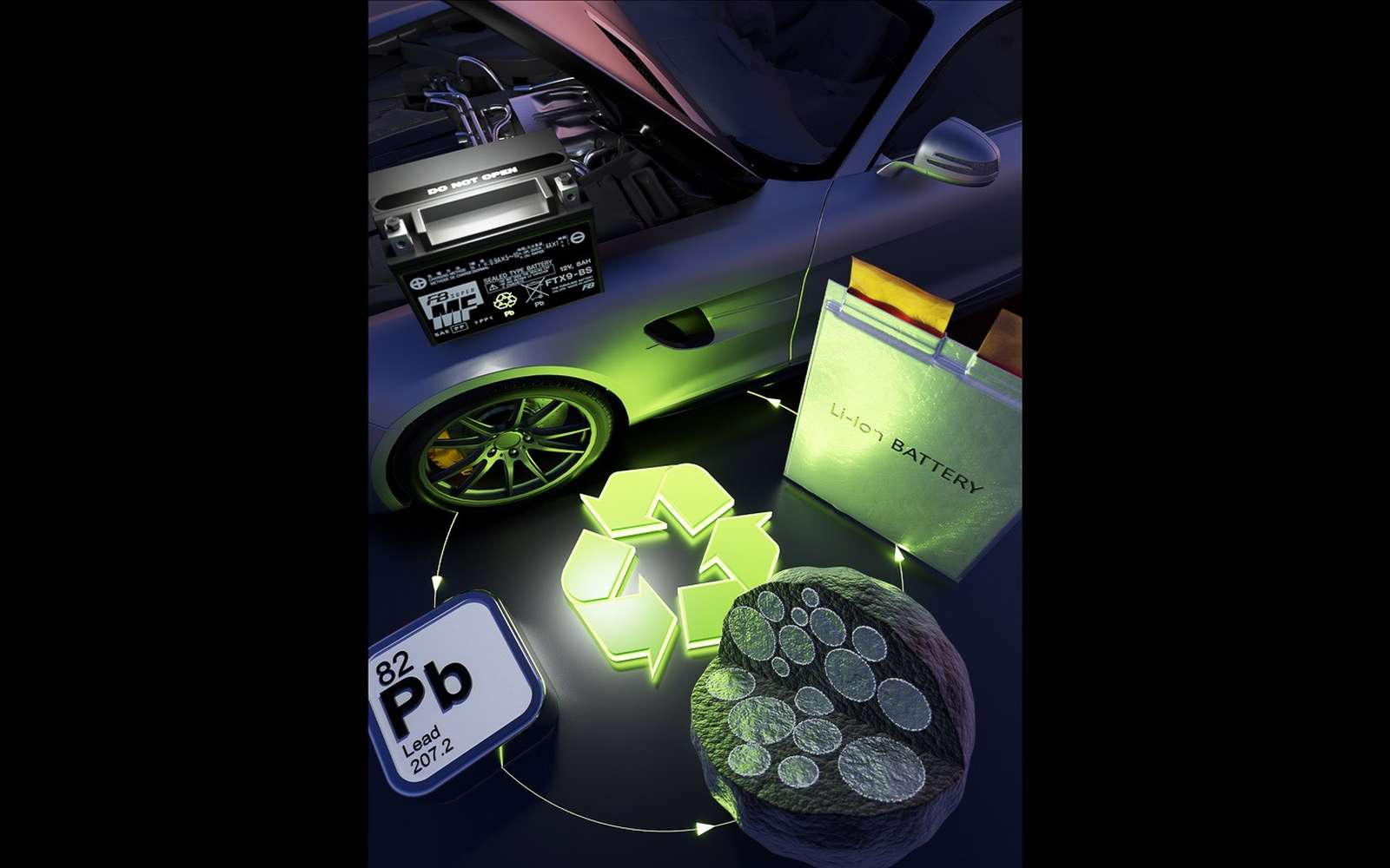 Une nouvelle anode au plomb pourrait doubler la capacité des batteries lithium-ion © Scapiens Inc., Argonne National Laboratory and Ulsan National Institute of Science and Technology