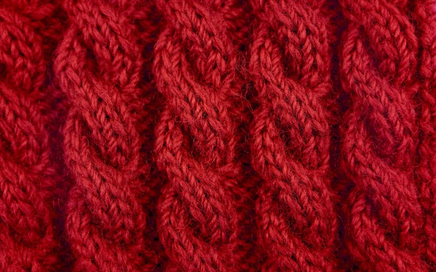 La laine gratte lorsque la fibre est épaisse et rigide. © sarahdoow - Fotolia.com