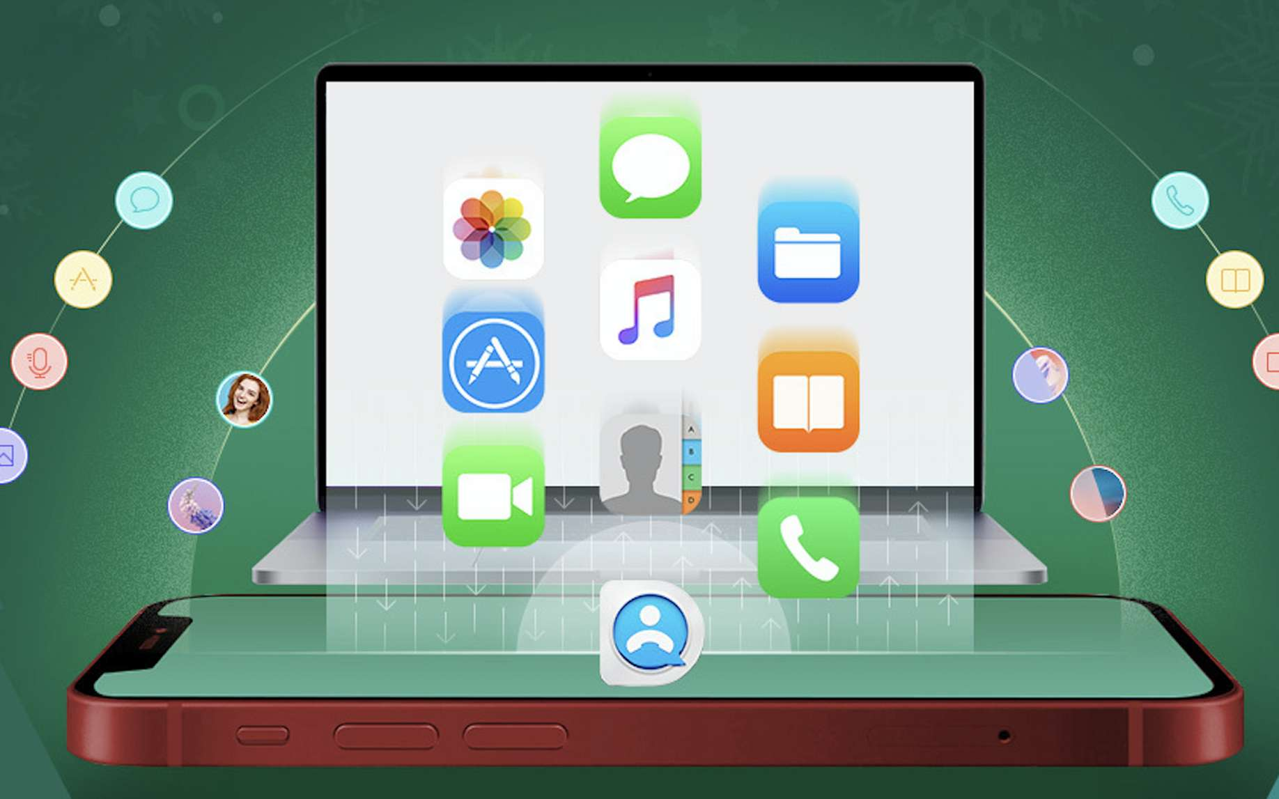 DearMob iPhone Manager, une alternative à iTunes, simple d'utilisation. © DearMob iPhone Manager