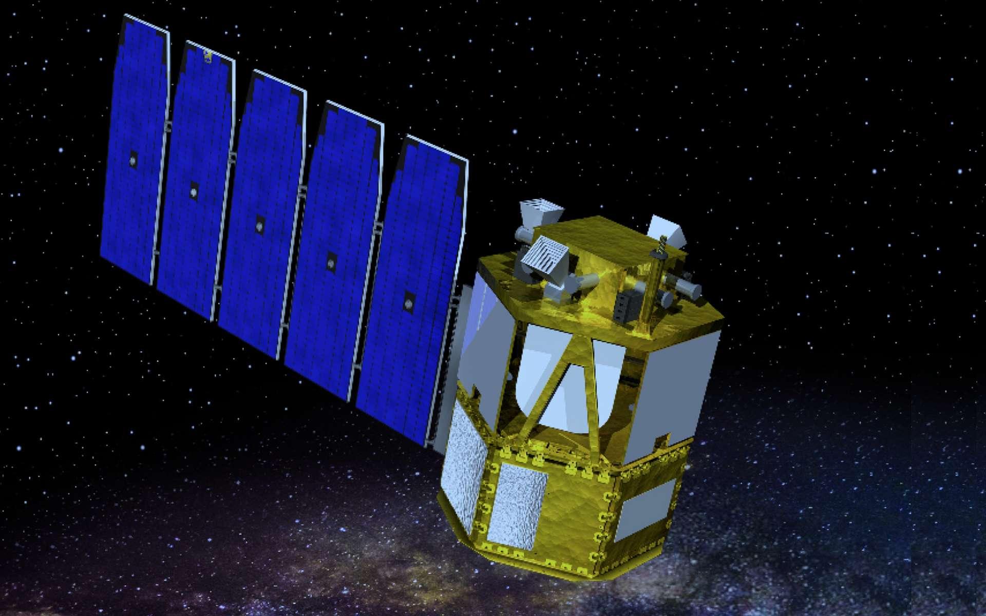 Étude conceptuelle du futur satellite Cosi de la Nasa. © UC Berkeley
