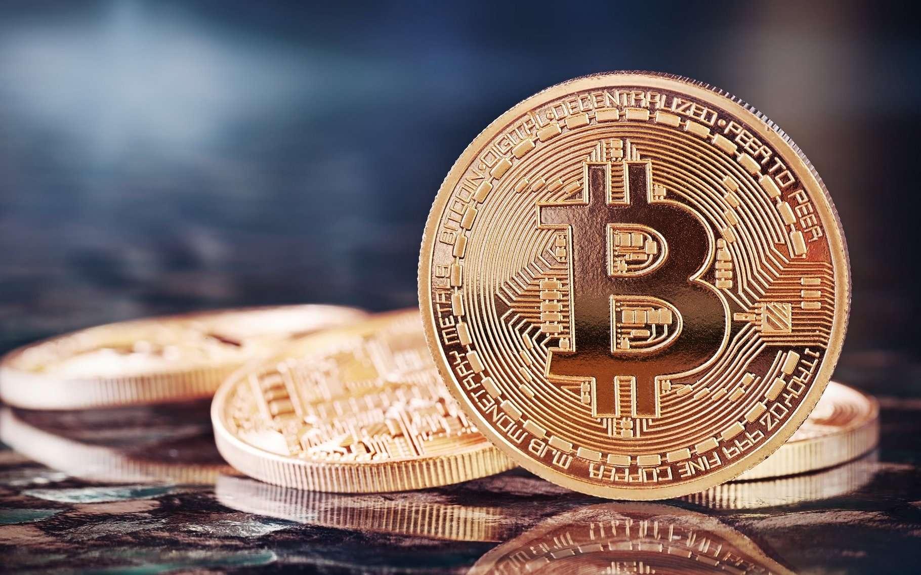 La monnaie virtuelle bitcoin a été créée en 2008. Son (ou ses) inventeur(s) ne s'est (se sont) jamais fait connaître. © Julia Tsokur, Shutterstock
