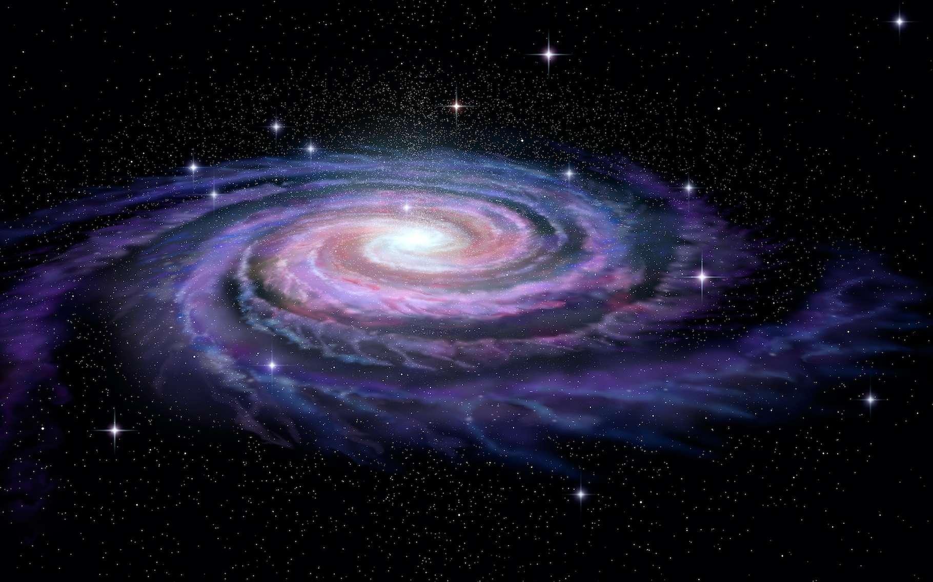 Elle tourne, elle brasse. Pourtant, des chercheurs de l'université de Genève (Suisse) l'affirment aujourd'hui, en plus de dix milliards d'années, la Voie lactée n'a pas réussi à homogénéiser son milieu interstellaire. © Alexandr Mitiuc, Adobe Stock