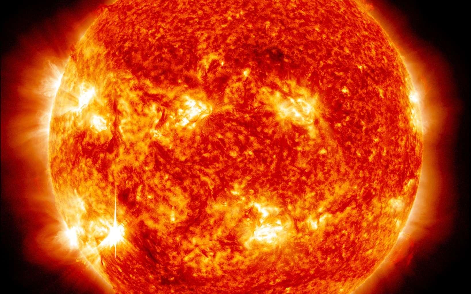 Une image du Soleil prise avec le satellite SDO. © Nasa, SDO