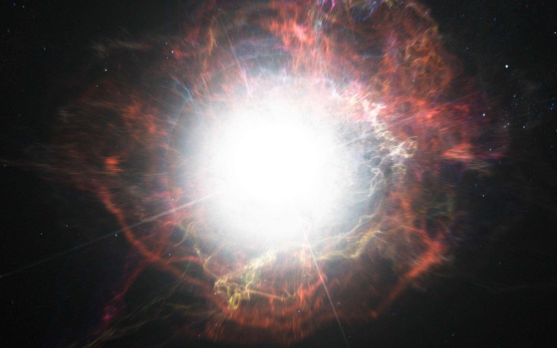 Quelle sera la prochaine supernova ? © ESO, M. Kornmesser