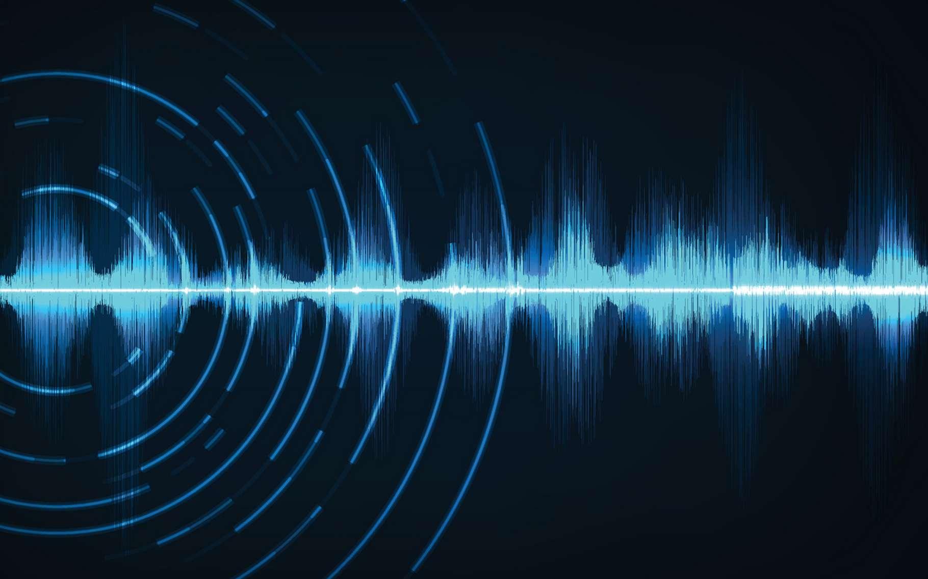 La longueur d'onde correspond à la période spatiale d'une onde. © your123, Fotolia
