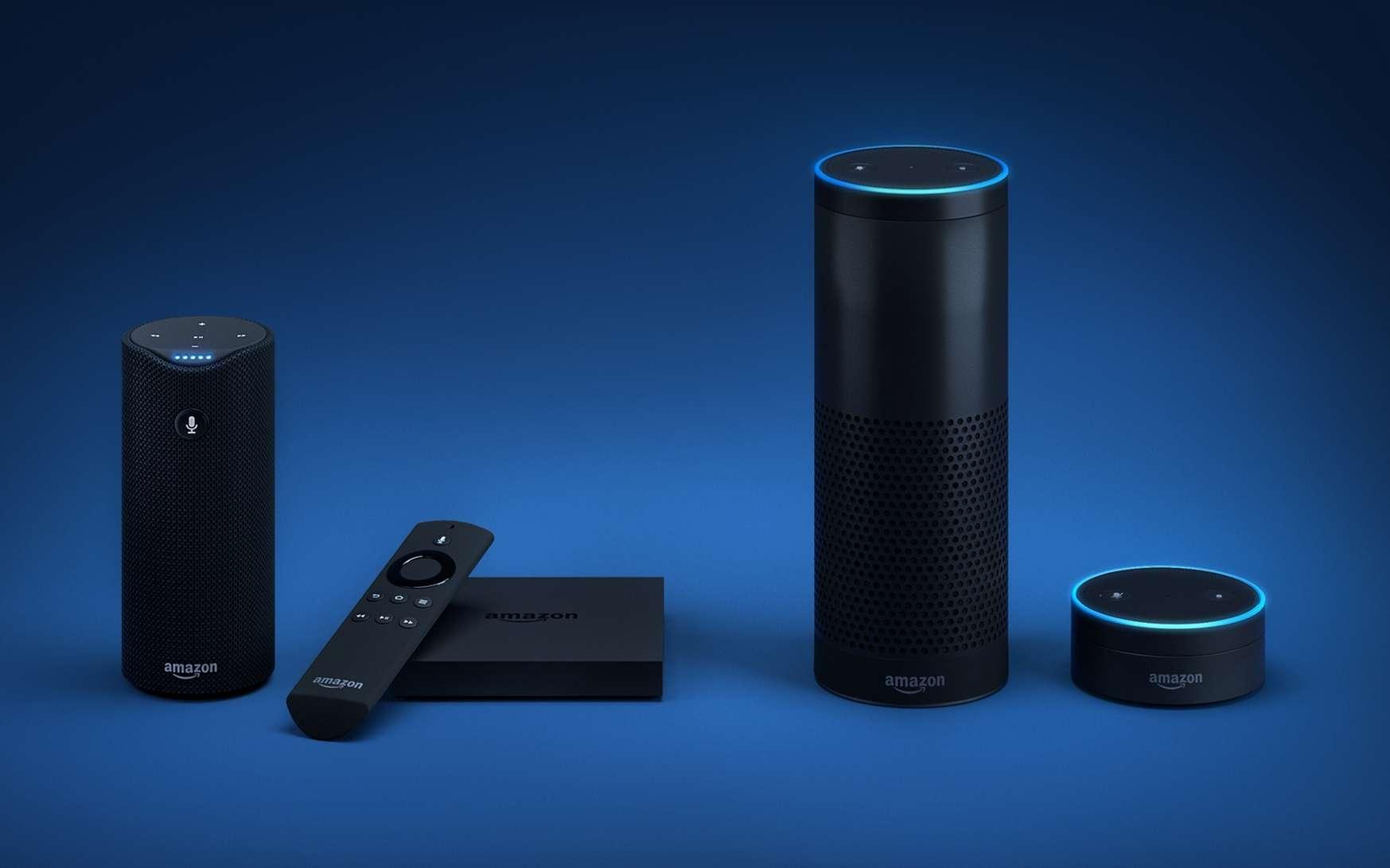 Si un appareil connecté possède un seul microphone, il devient vulnérable à une attaque par laser. © Amazon
