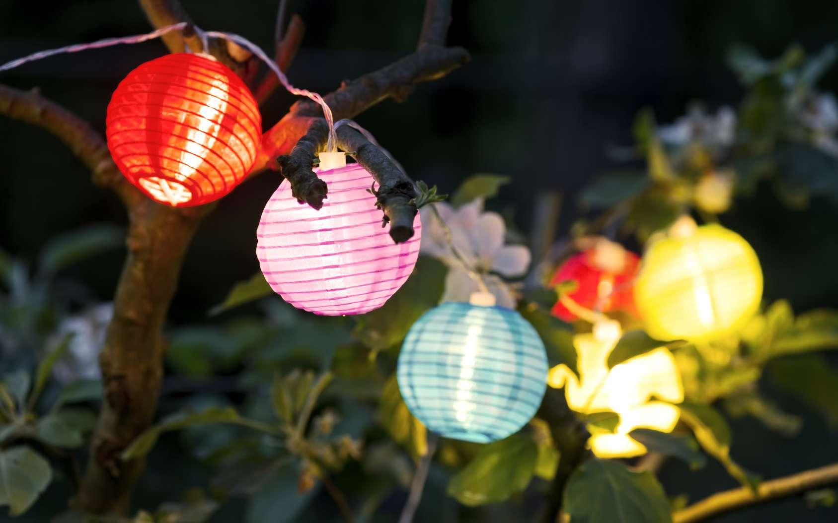 Un éclairage pour jardin utile et esthétique. © Claudia Paulussen, Fotolia