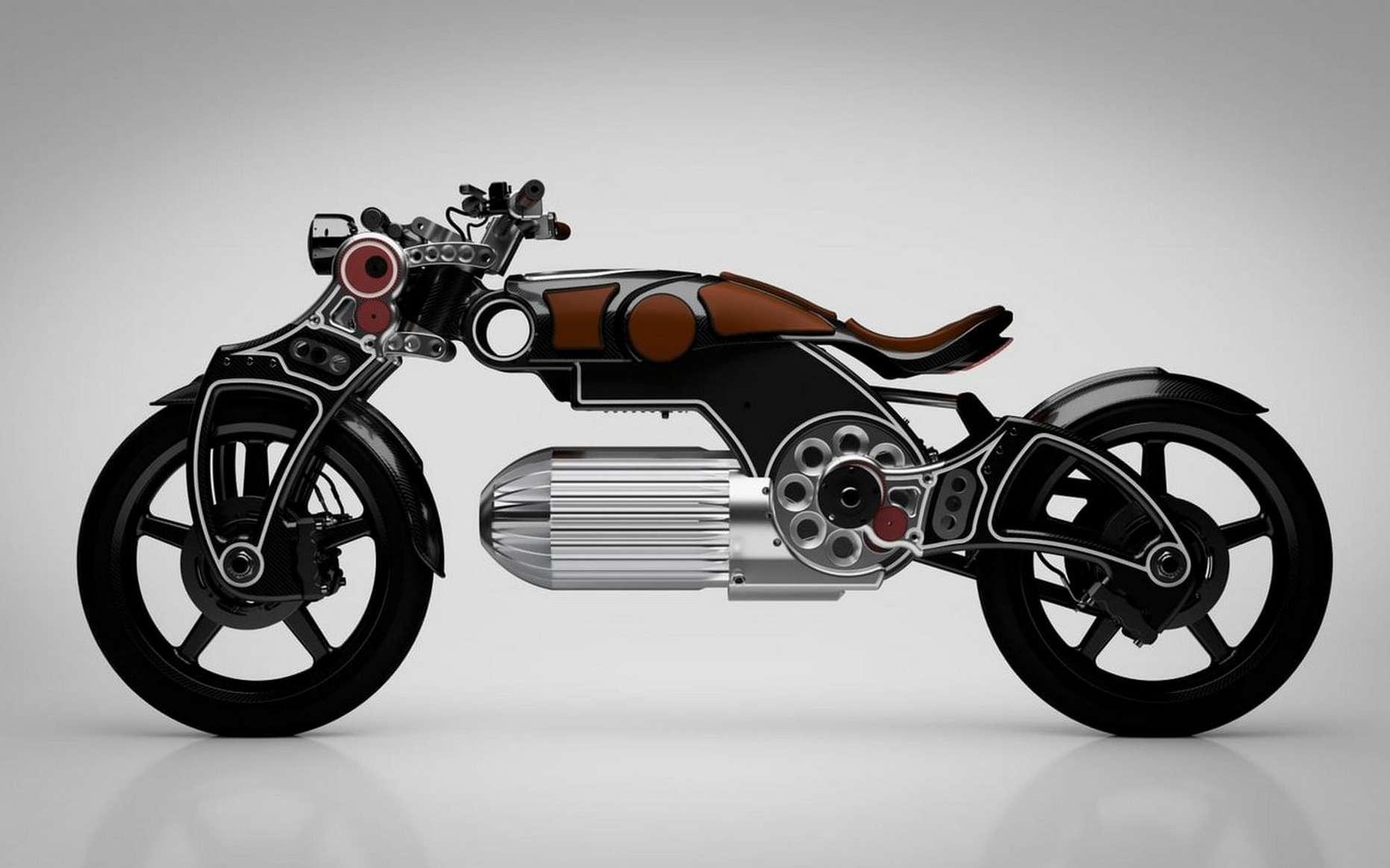 La moto électrique Hades de Curtiss Motorcycles. © Curtiss Motorcycles