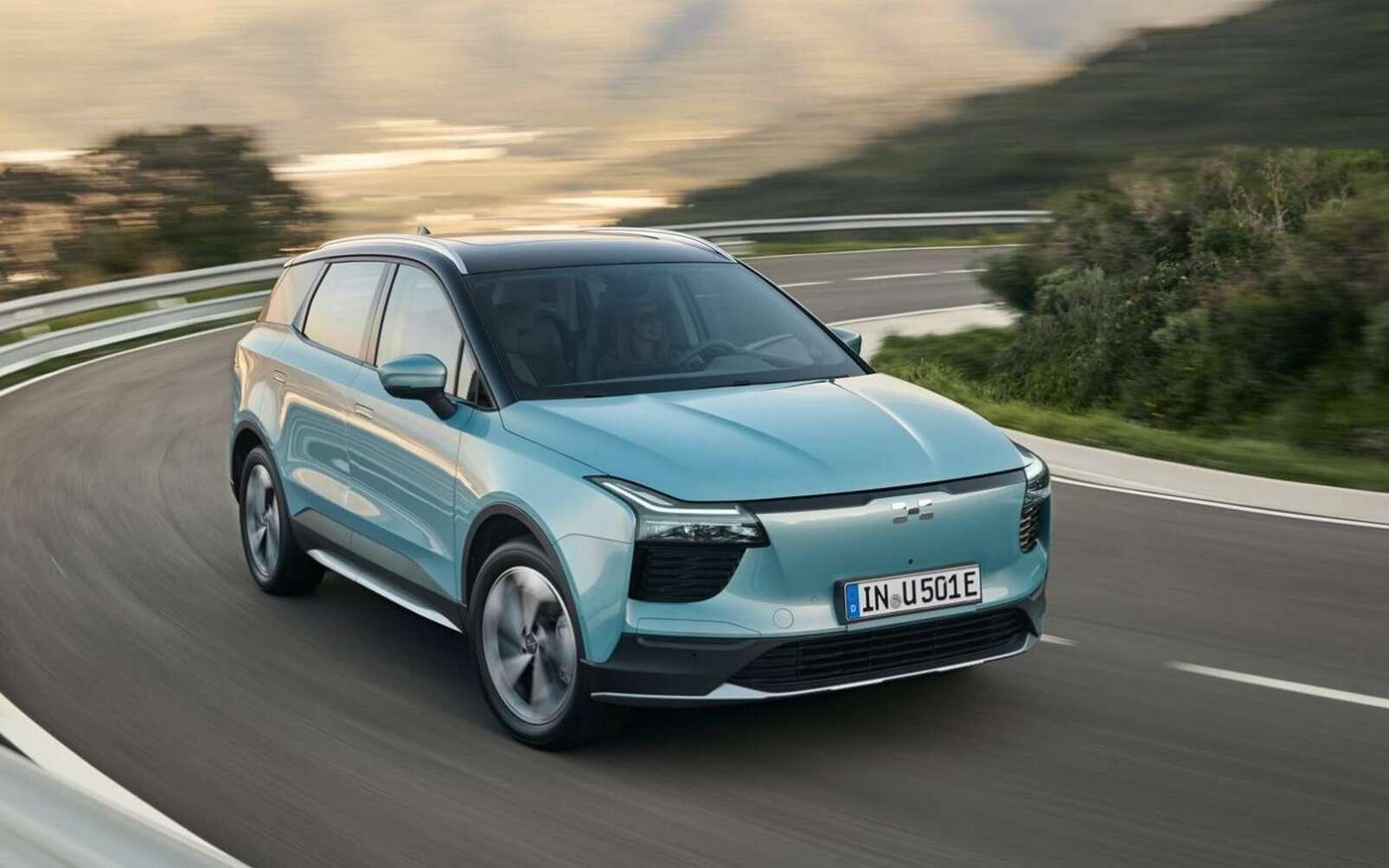 Aiways va s'attaquer au marché européen avec son SUV électrique U5 qui promet un tarif très agressif pour cette catégorie. © Aiways