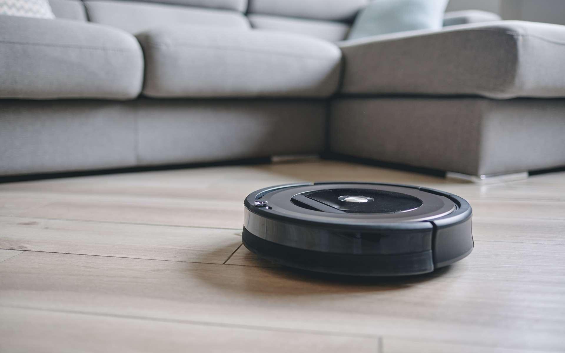 Aspirateur robot, l'aspiration intelligente. © matteozin, Adobe Stock