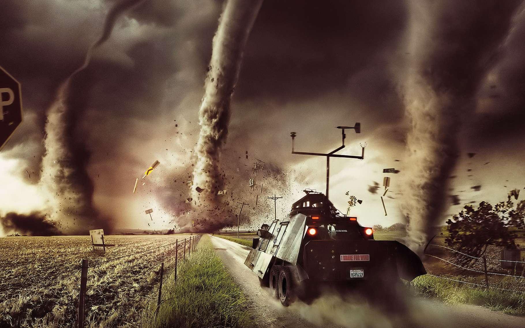 Les tornades sont très difficiles à observer, à modéliser et à prévoir. La science progresse dans ce domaine, aidée par des technologies nouvelles comme le Lidar. © DR