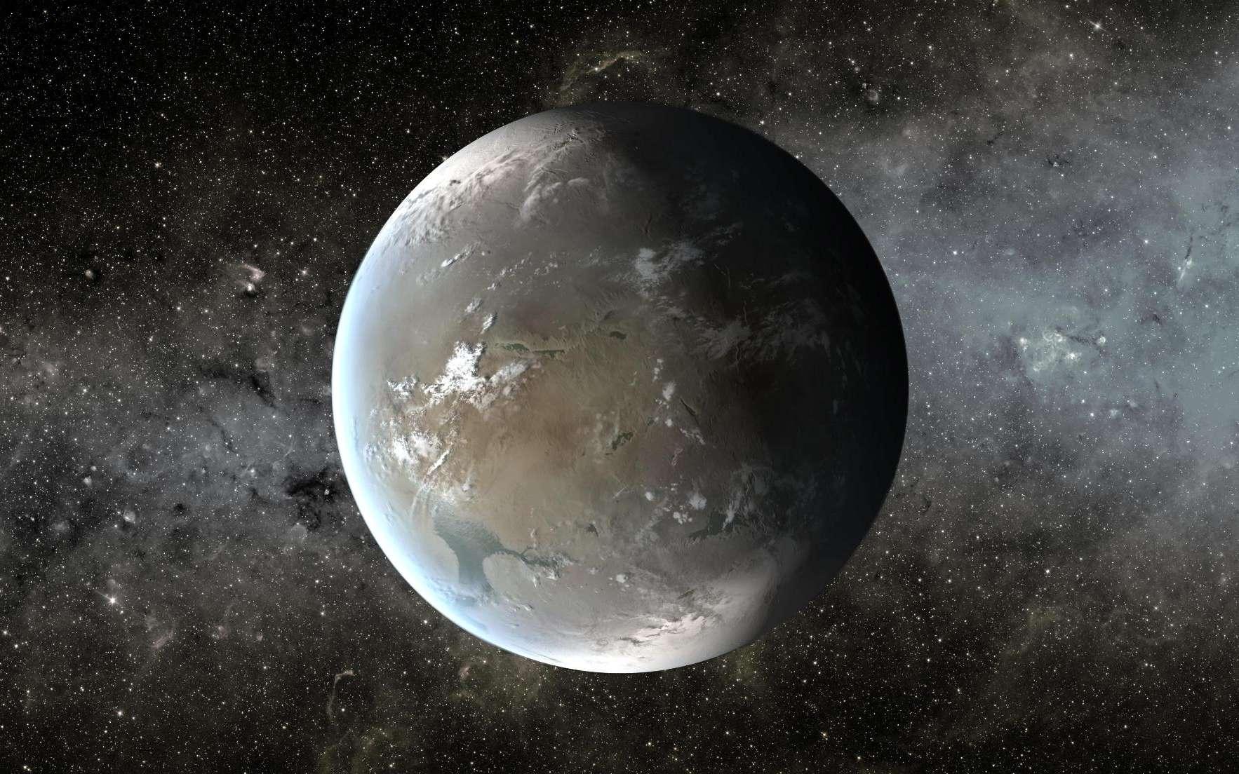 Une exoplanète susceptible d'abriter une civilisation E.T. © Nasa, Ames, JPL-Caltech