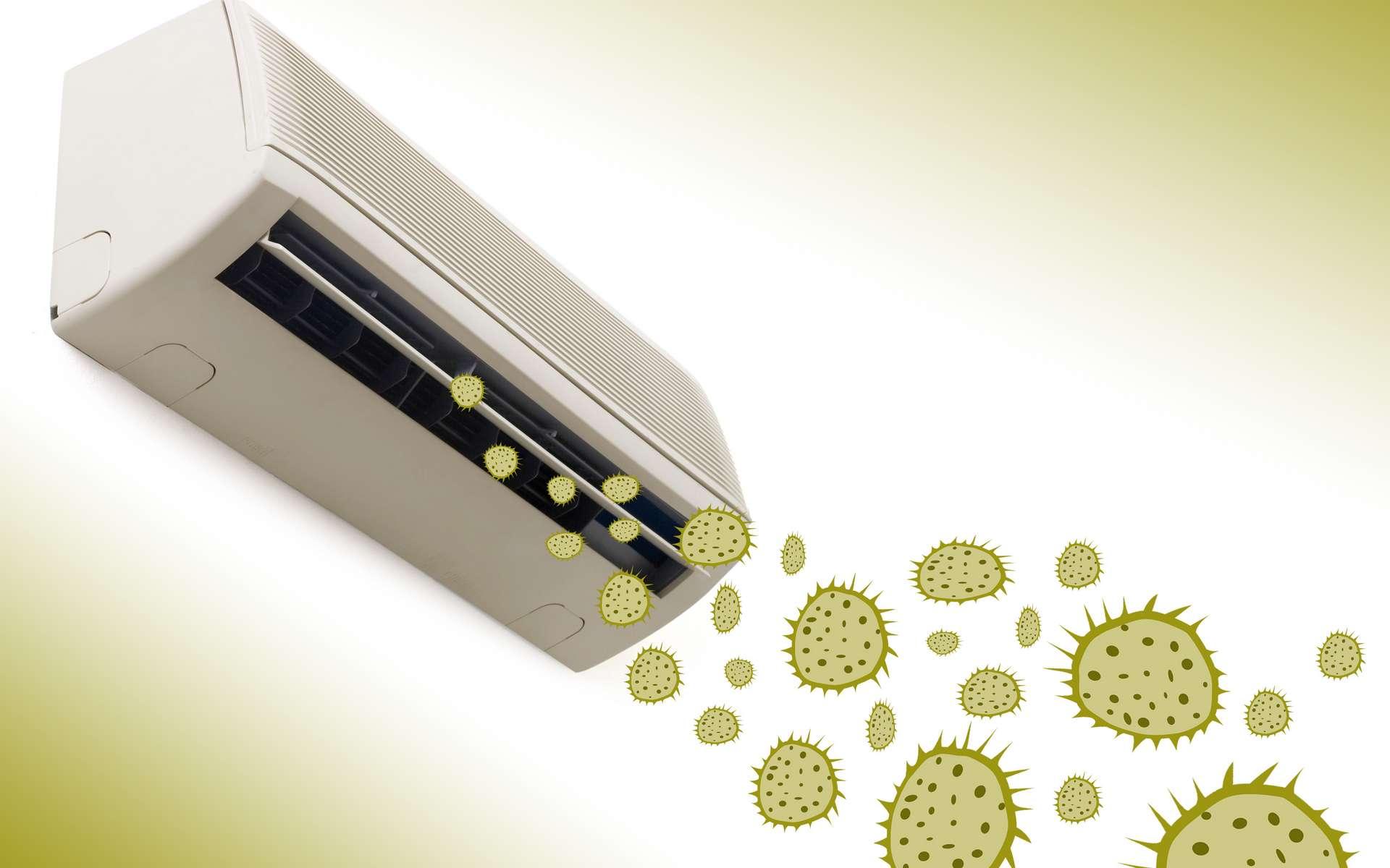 Les bactéries de la poussière peuvent s'échanger leur gène de résistance aux antibiotiques. © spinetta, Adobe Stock