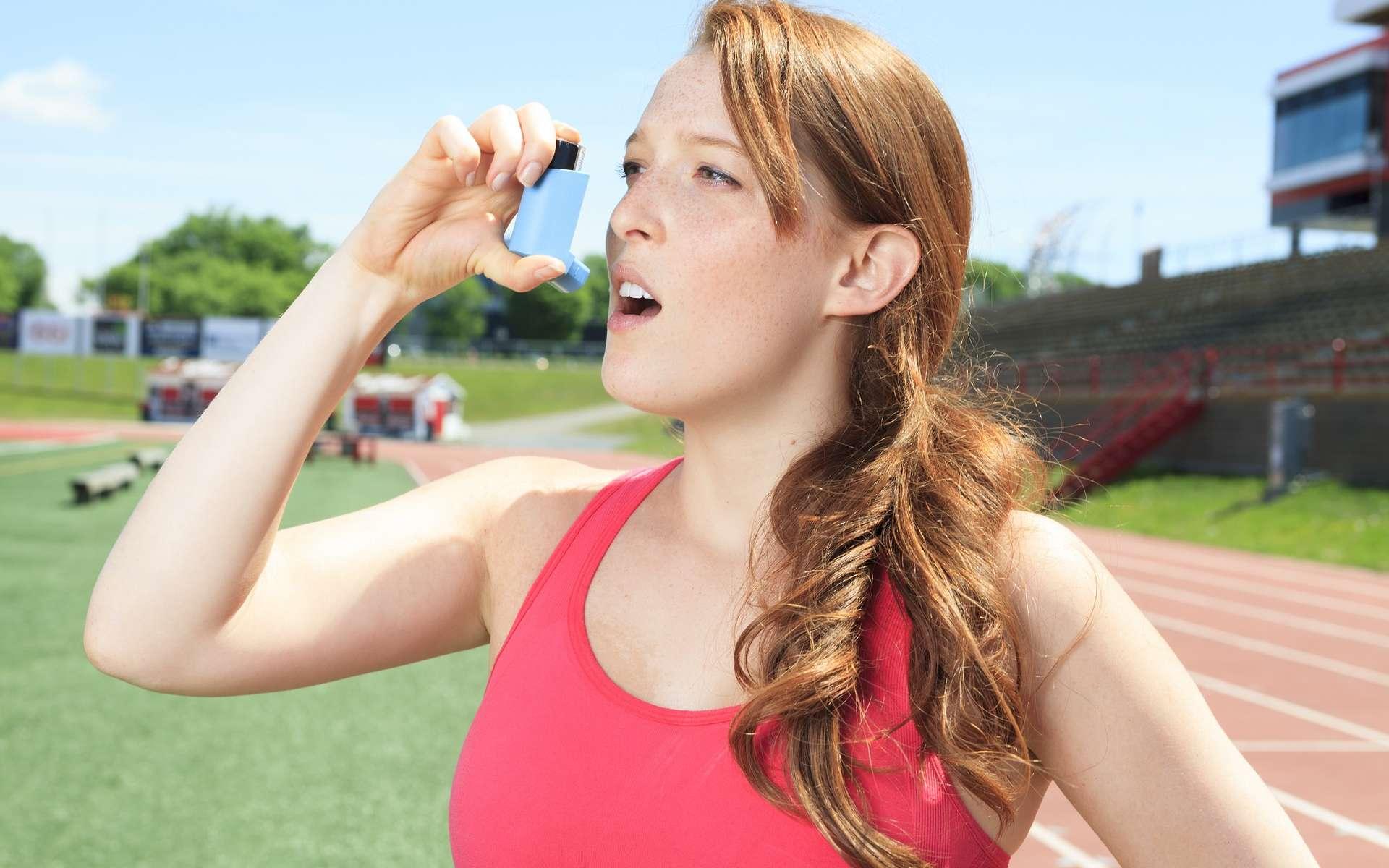 Les sportifs sont plus particulièrement touchés par l'asthme d'effort. © Lopolo, Shutterstock